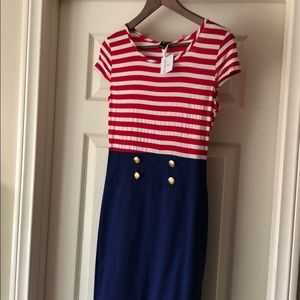 Windsor Pin Up Sailor Dress